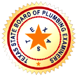 texas board of plumbing examiners seal